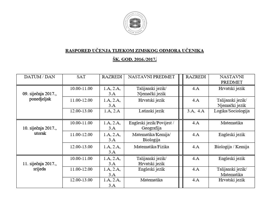 rasporedi